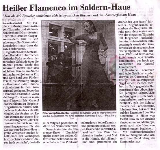 Flamenco in Neumünster
