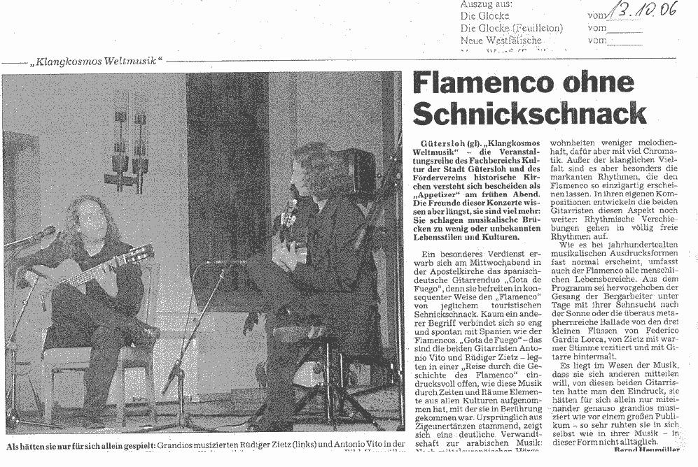 Flamenco Presse Gütersloh