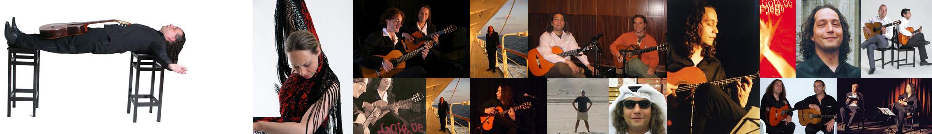 Logo-Flamenco-gitarrist Hamburg